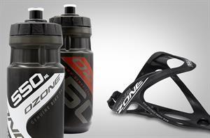 BOTTLE CAGE & WATER BOTTLE